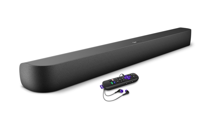 The Roku Streambar Pro ($179.99) due in stores mid-May ) streams 4K Video and will provide virtual surround sound with Roku OS 10.