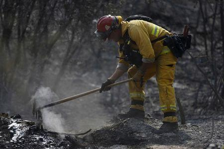 Record California Wildfire Caused By Wiring On Hot Tub, Investigators Find