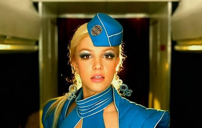"This flight attendant just recreated Britney's ""Toxic,"" and we'll love it till the world ends"