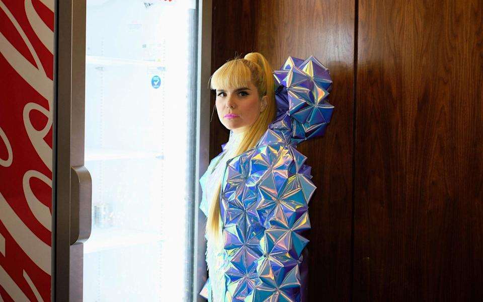 Paloma Faith pictured before going on stage at London's O2 Arena in spring 2018 - Jane Mingay