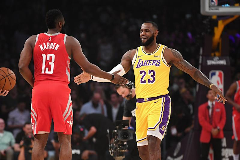 70738c00128e Are LeBron James and James Harden playing by another set of rules