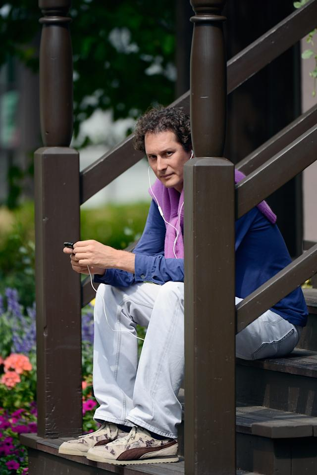 SUN VALLEY, ID - JULY 11: John Elkann, chairman of Fiat Spa, attends Allen & Company's Sun Valley Conference on July 11, 2011 in Sun Valley, Idaho. Since 1983, the investment firm Allen & Company has annually hosted the media and technology conference which is usually attended by powerful media executives. (Photo by Kevork Djansezian/Getty Images)