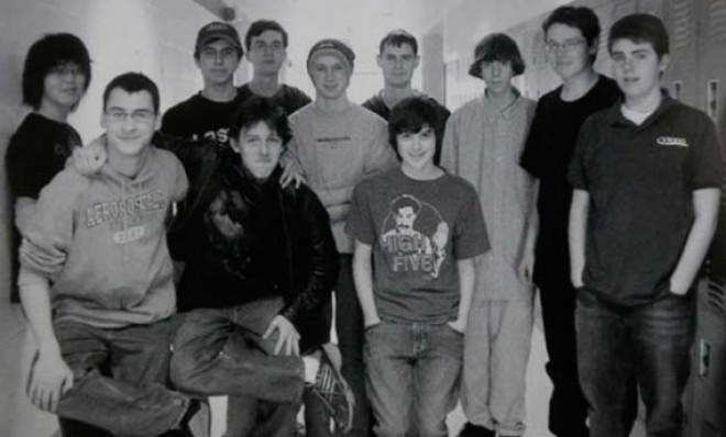 Adam Lanza, third from right: That the suspected Newton, Conn., shooter turned out to be male almost goes without saying.