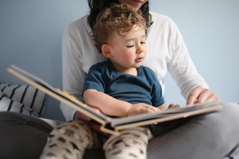 Giving your child the power to choose his own pyjamas and story will help them feel in control before going to bed. Source: Getty