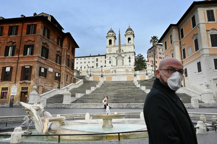 Italy is the hardest hit country in Europe (AFP Photo/Alberto PIZZOLI)