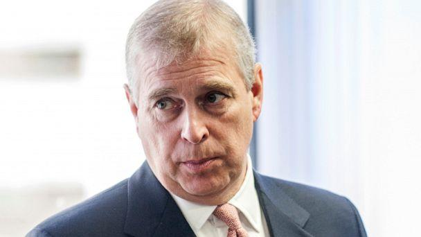 PHOTO: Britain's Prince Andrew visits the AkzoNobel Decorative Paints facility in Slough, England, April 13, 2015. (David Parker/AP, FILE)