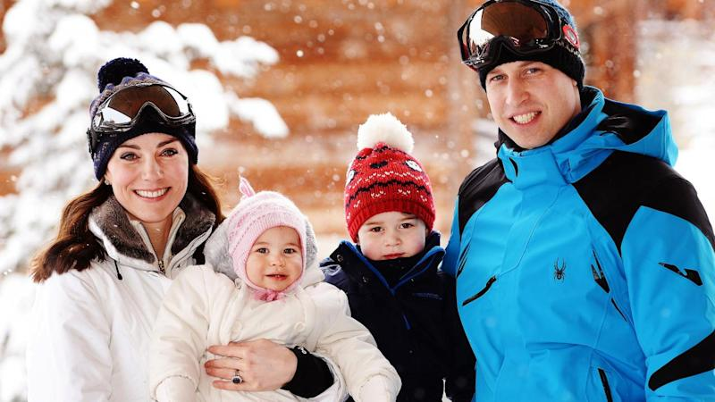 prince william and kate middleton share royal family christmas card - Royal Family Christmas Card
