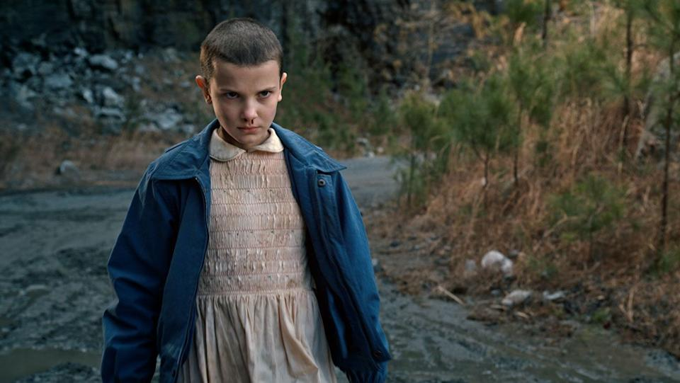 Millie in the first series of Stranger Things (Photo: Netflix)