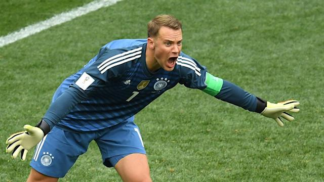 The Bayern Munich goalkeeper has urged his team-mates to raise their games for the remainder of the World Cup after their dismal start