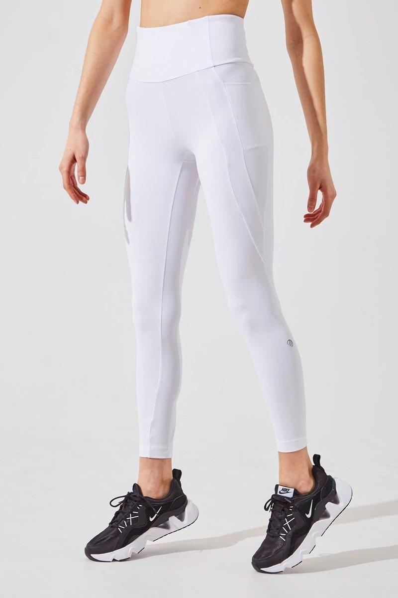 Sprint High Waisted Recycled Nylon 7/8 Legging. Image via MPG Sport.