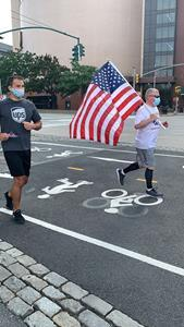 The Promise Run and Ride reminds the nation to never forget those who died and suffered on 9/11. More than 30 UPS employees ran together today in New York City to support the children of first responders and military members. More than 200 UPS employees, representing every U.S. state and seven countries, took part virtually.