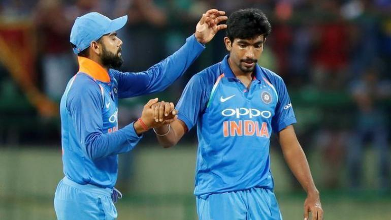 Can the world's best ODI bowler, Jasprit Bumrah(R) deliver a stunning performance in this big tournament?