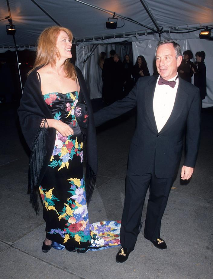 Michael Bloomberg and Mary Jane Salk at the Met Gala.