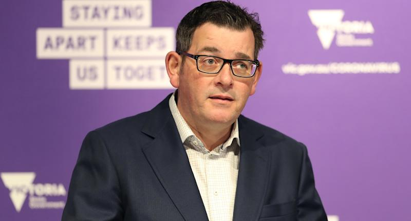 Premier Daniel Andrews said on Sunday sharing a cigarette lighter could have caused a cluster in Melbourne.