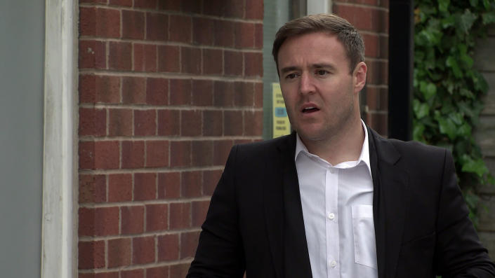 FROM ITV  STRICT EMBARGO - No Use Before Tuesday 22nd June 2021  Coronation Street - Ep 10364  Wednesday 30th June 2021 - 1st Ep  Suffering from morning sickness, Alina says she can't attend Kirsty's funeral. Realising that Tyrone Dobbs [ALAN HALSALL] is going alone, but not why, Fiz Stape [JENNIE McALPINE] asserts she's coming with him.  Picture contact David.crook@itv.com   This photograph is (C) ITV Plc and can only be reproduced for editorial purposes directly in connection with the programme or event mentioned above, or ITV plc. Once made available by ITV plc Picture Desk, this photograph can be reproduced once only up until the transmission [TX] date and no reproduction fee will be charged. Any subsequent usage may incur a fee. This photograph must not be manipulated [excluding basic cropping] in a manner which alters the visual appearance of the person photographed deemed detrimental or inappropriate by ITV plc Picture Desk. This photograph must not be syndicated to any other company, publication or website, or permanently archived, without the express written permission of ITV Picture Desk. Full Terms and conditions are available on  www.itv.com/presscentre/itvpictures/terms