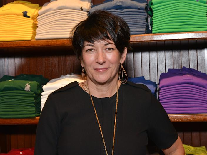 NEW YORK, NY - NOVEMBER 3: Ghislaine Maxwell attends Polo Ralph Lauren host Victories of Athlete Ally at Polo Ralph Lauren Store on November 3, 2015 in New York City.