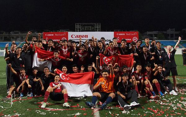 The future of Singapore football. (Photo by Football Association of Singapore)