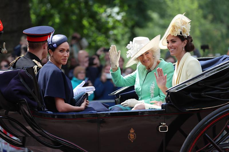 Trooping The Color 2020.Why Baby Archie Isn T At Trooping The Colour With Meghan And