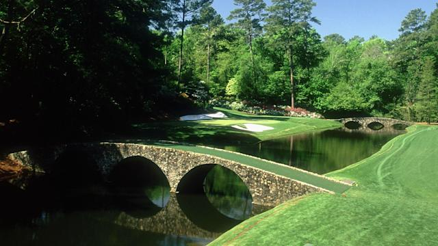 Amen Corner is one of the most recognized stretches at Augusta National.