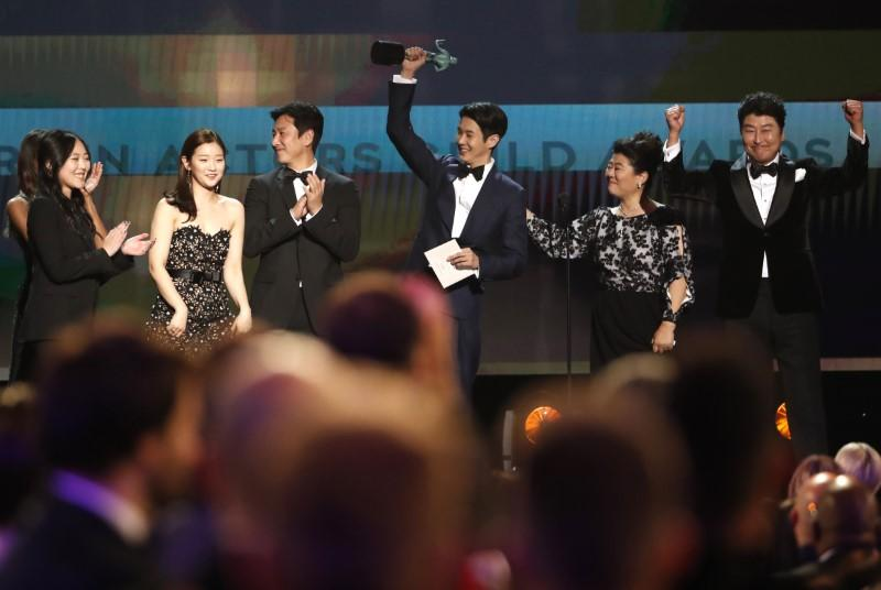 'Parasite' wins top prize at Screen Actors Guild Awards