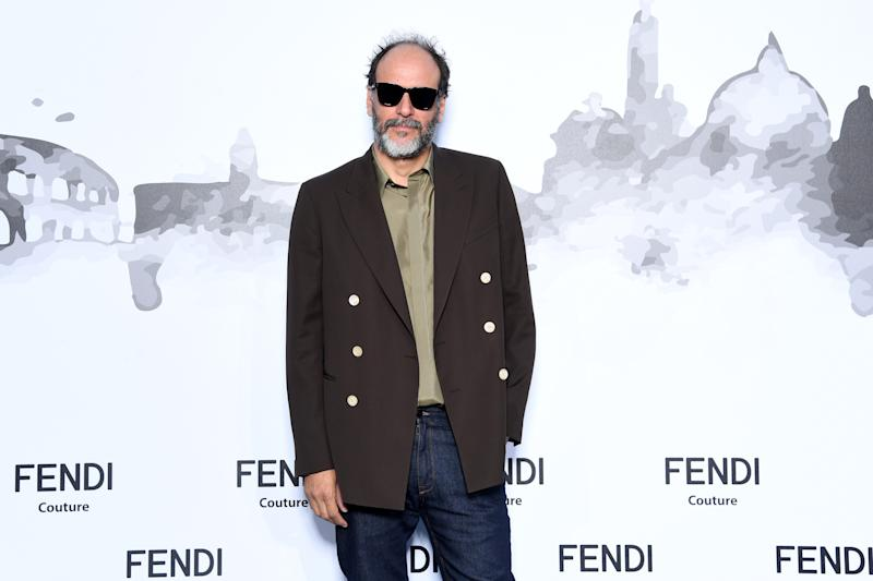 Luca Guadagnino attends the Cocktail at Fendi Couture Fall Winter 2019/2020 in Rome, Italy. (Photo by Daniele Venturelli/Getty Images for Fendi)