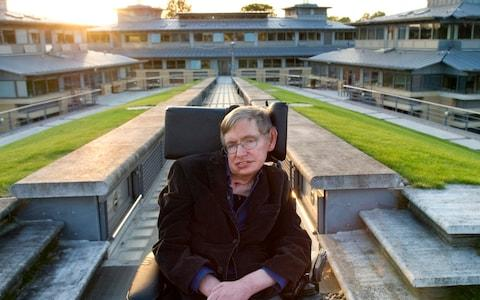 Professor Stephen Hawking, British theoretical physicist. Photographed at the Centre for Mathematical Sciences, University of Cambridge - Credit: Eleanor Bentall/Corbis