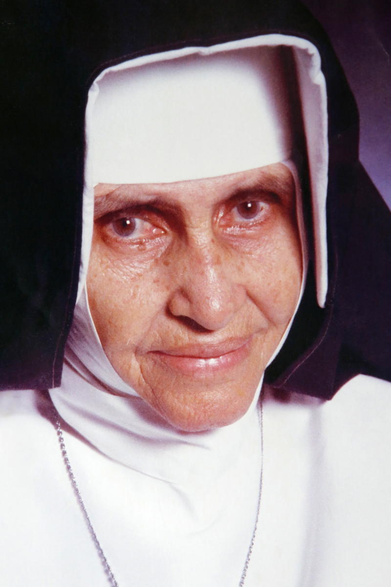 Irma (Sister) Dulce Pontes, (26 May 1914 – 13 March 1992) was a Brazilian Catholic Franciscan Sister who was the founder of the Obras Sociais Irma Dulce, also known as the Charitable Works Foundation of Sister Dulce. (Photo by: Godong/Universal Images Group via Getty Images)