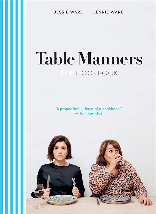 """<p><strong>Release:</strong> 5 March 2020</p><p>Mum and daughter duo (and hosts of podcast Table Manners), Jessie and Lennie bring their recipes to life in their first-ever cookbook. Delicious, easy dishes designed for busy people.</p><p><strong><a class=""""link rapid-noclick-resp"""" href=""""https://www.amazon.co.uk/Table-Manners-Cookbook-Jessie-Ware/dp/152910520X/ref=zg_bsnr_66_47?_encoding=UTF8&psc=1&refRID=FKNJHB07QFJJ7CRSG6CD&tag=hearstuk-yahoo-21&ascsubtag=%5Bartid%7C2159.g.28871146%5Bsrc%7Cyahoo-uk"""" rel=""""nofollow noopener"""" target=""""_blank"""" data-ylk=""""slk:PRE-ORDER"""">PRE-ORDER</a> Table Manners, amazon.co.uk</strong></p>"""