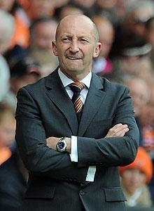 Blackpool head coach Ian Holloway may be one of the only coaches to keep his job even if the club is relegated