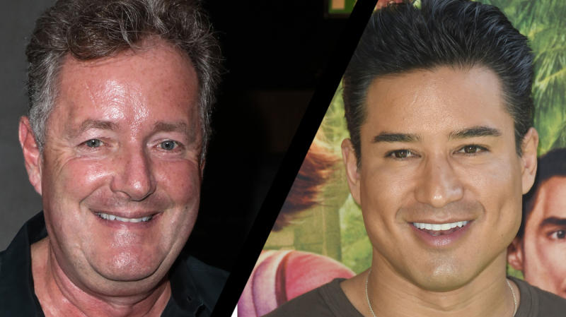 Piers Morgan has defend Mario Lopez's comments about transgender parenting (Credit: PA)