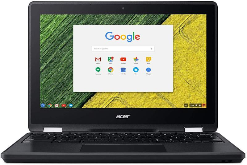 "Acer Chromebook Professional Spin Series, Convertible, Ruggedized, 11.6"" LCD Touch Screen, Intel Celeron 3350, 4GB Ram, 32Gb eMMC, Black, Chrome OS, R751T-C8HR-CA"