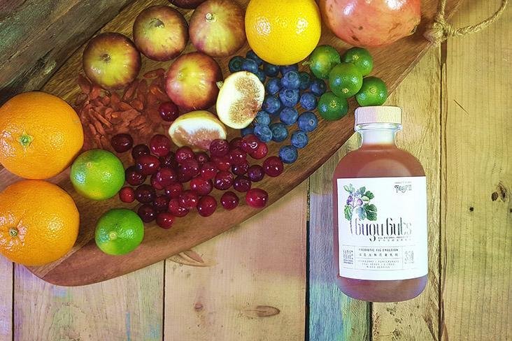 Gugu Guts – a prebiotic drink created with pectin-rich figs.