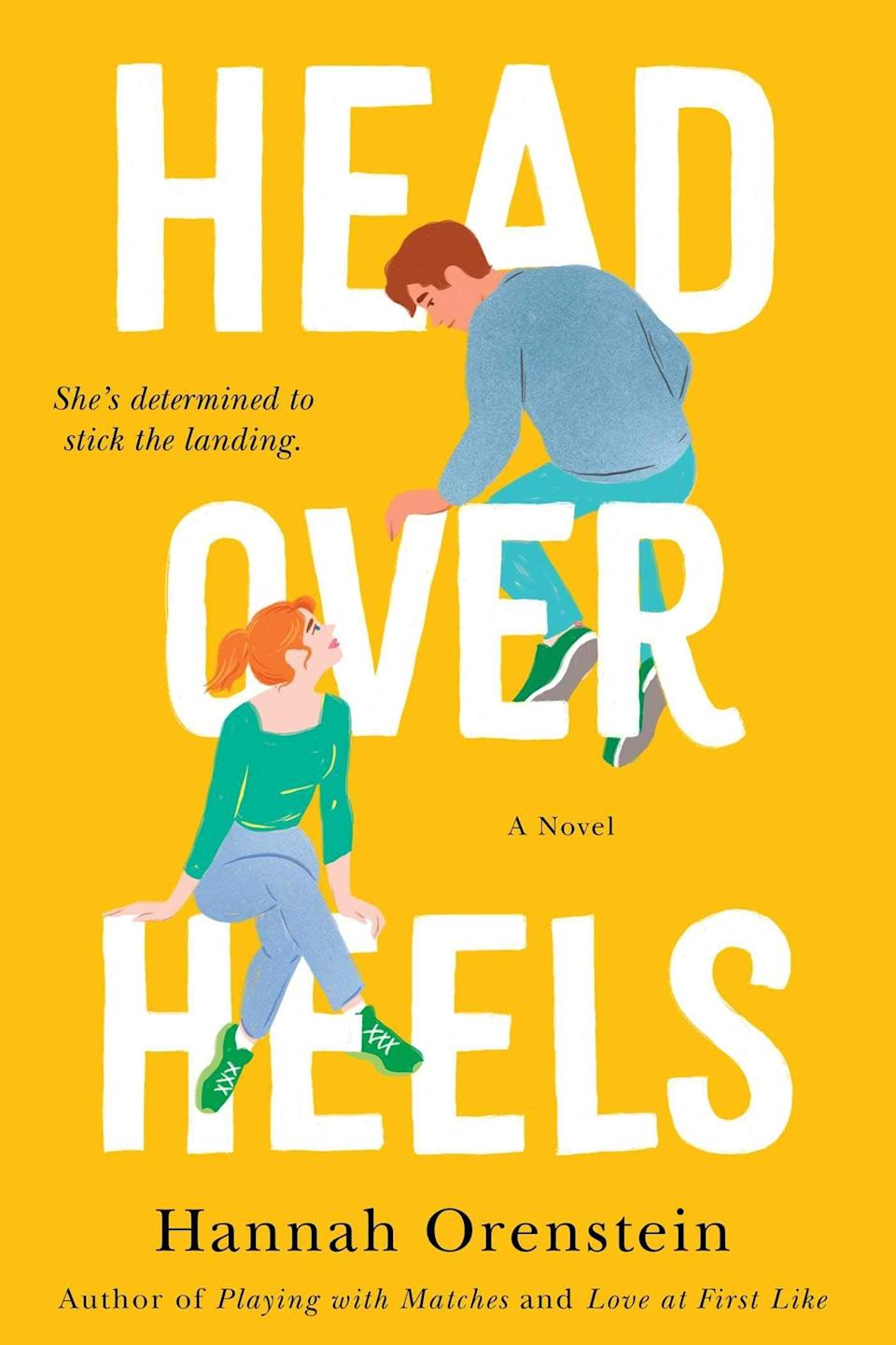 <p>Let them tumble into the world of competitive gymnastics with <span><strong>Head Over Heels</strong> by Hannah Orenstein</span> ($11). Avery Abrams, a previous Olympic gymnastics hopeful returns home and takes up an opportunity to coach a young gymnast, Hallie, alongside fellow former pro, and former crush, Ryan Nicholson. As Avery trains Hallie, and starts falling for Ryan, she must reckon with her past - and future - in the world of competitive gymnastics.</p> <p>I thought this was a cute read as someone who doesn't know a whole lot about gymnastics, so I can only imagine how much more enjoyable it would be for someone who does. The romance is sweet, and I love the empowering undertone with satisfying character development for Avery.</p>