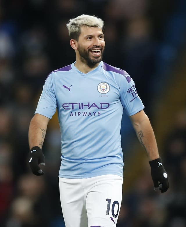 City are missing the goals of Aguero