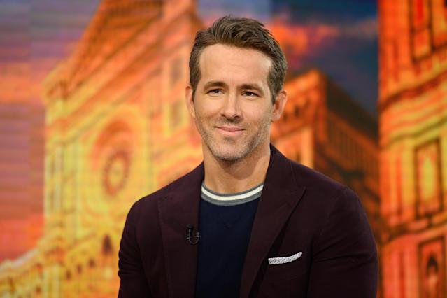 Ryan Reynolds is putting his #TipYourBartender initiative into action across the pond. (Photo by: Nathan Congleton/NBC/NBCU Photo Bank via Getty Images)
