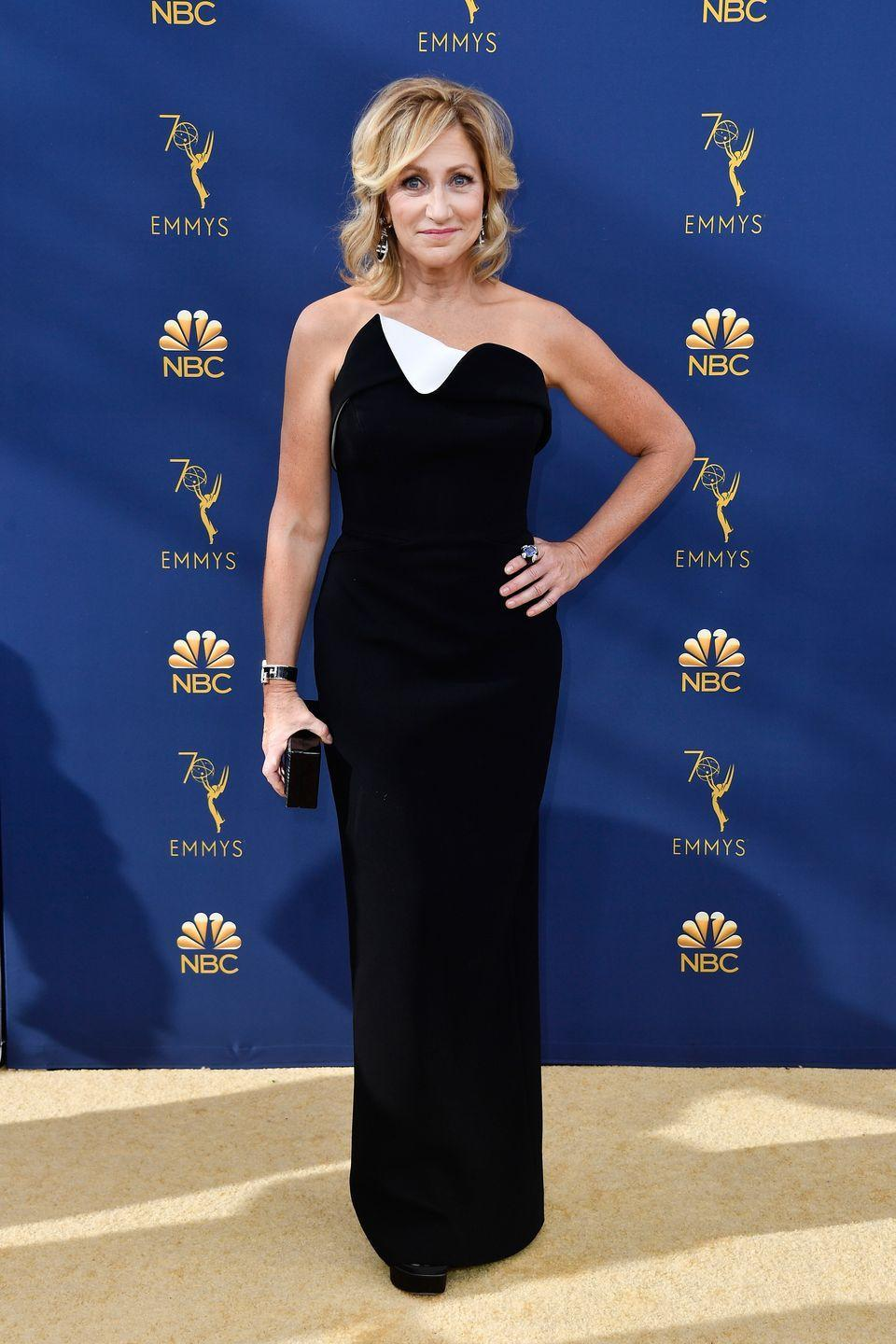 """<p>The actress kept her breast cancer diagnosis a secret while filming <em>The Sopranos</em>. She's now in remission, but in an interview with <a href=""""https://www.health.com/health/article/0,,20411264,00.html"""" rel=""""nofollow noopener"""" target=""""_blank"""" data-ylk=""""slk:Health"""" class=""""link rapid-noclick-resp""""><em>Health</em></a>, she opened up about the challenges that remain. """"When the cancer went into remission, I was relieved, of course, but it was also strangely depressing...it occurs to you you're really on your own, and its a bit nerve-racking,"""" she said. </p>"""