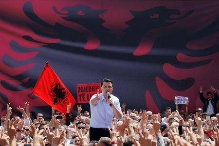 Albanian politicians postpone parliamentary vote to June 25
