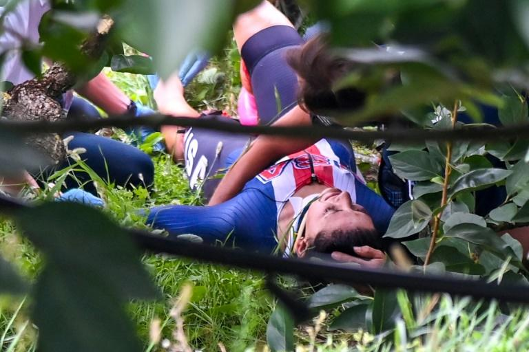 Dygert undergoes surgery after gruesome fall in world championships