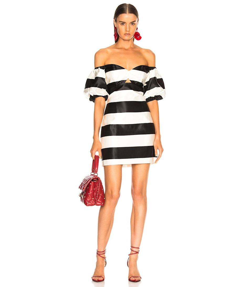 These stripes can party. Available in sizes 0 to 10.