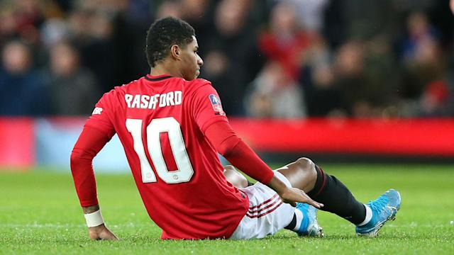 Ole Gunnar Solskjaer said Marcus Rashford, who came off against Wolves, would be willing to play through the pain barrier against Liverpool.