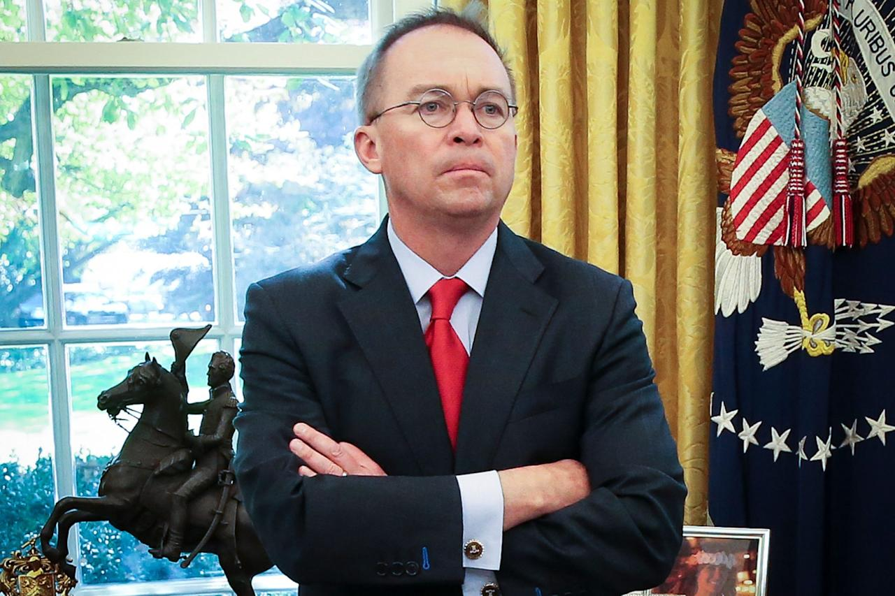 "<p>After 14 months as the White House's acting chief of staff, Mick Mulvaney will be replaced by Rep. Mark Meadows, President Trump <a href=""https://twitter.com/realDonaldTrump/status/1236096307858681857?ref_src=twsrc%5Etfw%7Ctwcamp%5Etweetembed%7Ctwterm%5E1236096307858681857&ref_url=https%3A%2F%2Fabcnews.go.com%2FPolitics%2Fmark-meadows-named-white-house-chief-staff%2Fstory%3Fid%3D69446787"">said late Friday</a> in a tweet.</p><p>""I am pleased to announce that Congressman Mark Meadows will become White House Chief of Staff. I have long known and worked with Mark, and the relationship is a very good one,"" Trump wrote about the Republican congressman from North Carolina.</p><p>The president thanked Mulvaney for ""having served the Administration so well.""</p><p>While Trump did not give a reason for the replacement, he wrote that Mulvaney will become the United States Envoy for Northern Ireland.</p><p>It remains unclear if Mulvaney will continue to serve as the director of the Office of Management and Budget, a position he held concurrently with his time as chief of staff.</p>"