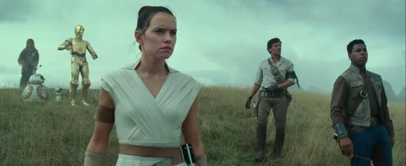 The first trailer for Star Wars: The Rise Of Skywalker is finally here
