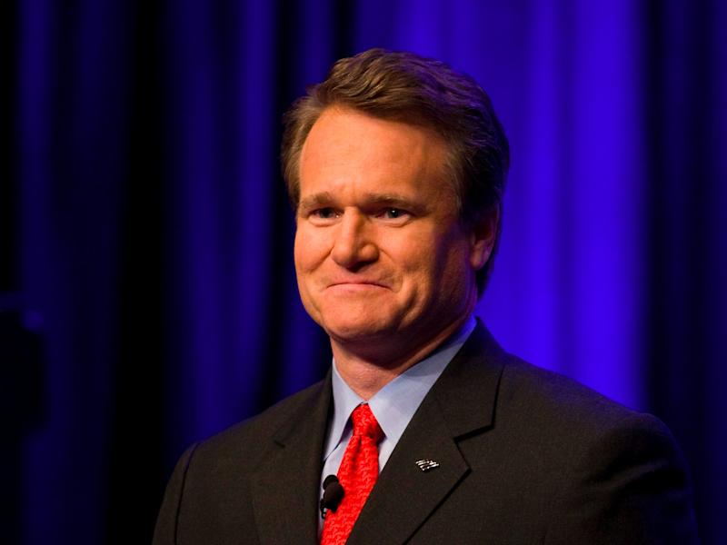 Bank of America's earnings top expectations, excluding tax charge; shares rise