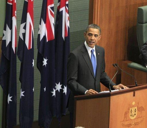 President Barack Obama has signalled a pivotal US shift to Asia, pledging not to let Washington's budget crunch compromise his expansive vision and military presence in the region