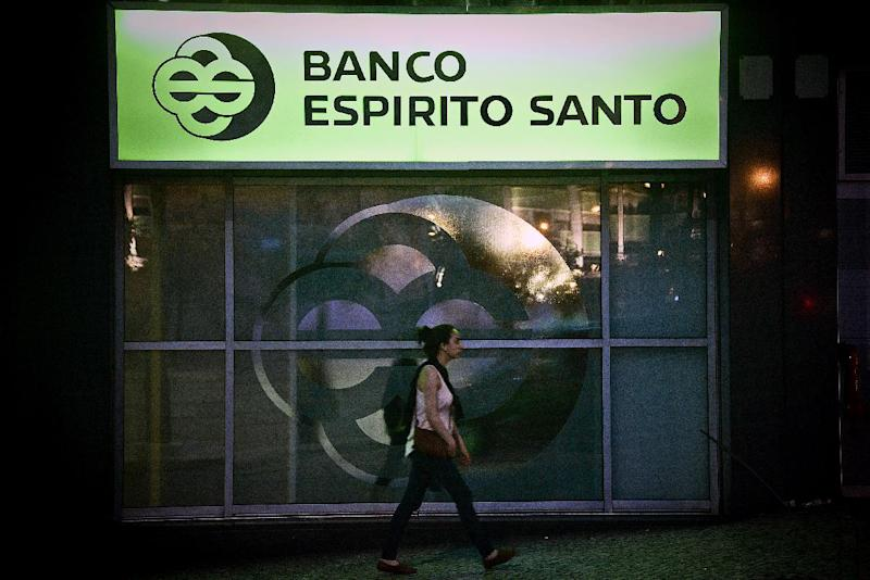 The collapse of Banco Espirito Santo (BES) came just months after Portugal successfully emerged from a 78-billion-euro ($99-billion), three-year bailout financed by the EU-IMF (AFP Photo/Patricia de Melo Moreira)