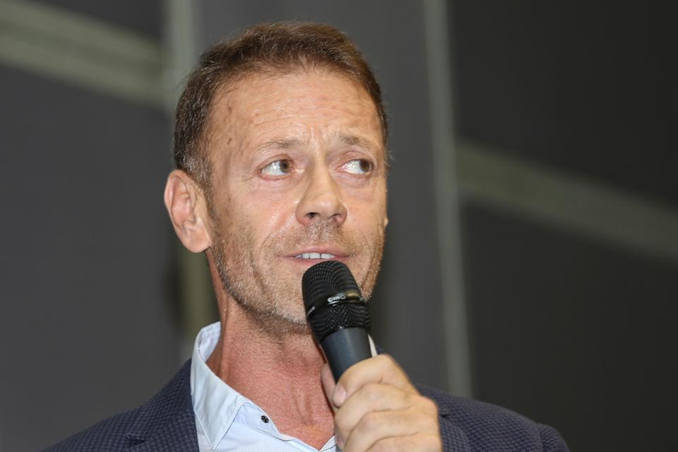 Rocco Siffredi, Italian pornographic actor, director and producer of pornographic movies, guest during the XXXII Turin International Book Fair at Lingotto Fiere on May 11, 2019 in Turin, Italy.  (Photo by Massimiliano Ferraro/NurPhoto via Getty Images) (Photo: NurPhoto via Getty Images)