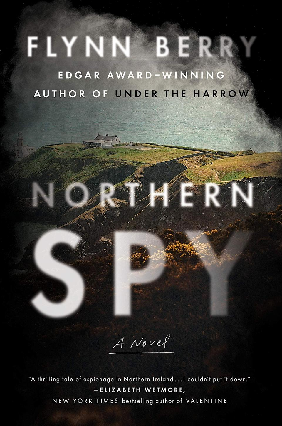 "<p>The IRA comes between two sisters in Flynn Berry's intense and moving <a href=""https://www.amazon.com/Northern-Spy-Novel-Flynn-Berry/dp/0735224994"" class=""link rapid-noclick-resp"" rel=""nofollow noopener"" target=""_blank"" data-ylk=""slk:Northern Spy""><strong>Northern Spy</strong></a>. Tessa and Marian have always opposed the violence of the IRA, but when Tessa sees her sister on television helping the group during a robbery, she'll begin to wonder if she knows her sister as well as she thought. </p> <p><em>Out April 6</em></p>"
