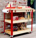 """<p>Complete with rolling wheels, a paper towel holder for easy clean-up, and a butcher's block, your favorite grill master is bound to love this summer-ready gift.</p><p><strong>Get the tutorial at <a href=""""https://jenwoodhouse.com/rolling-grill-cart/"""" rel=""""nofollow noopener"""" target=""""_blank"""" data-ylk=""""slk:The House of Wood"""" class=""""link rapid-noclick-resp"""">The House of Wood</a>.</strong></p>"""