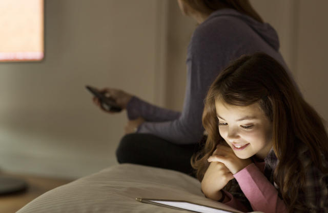 How much screen time do you allow your children to have? [Photo: Getty]