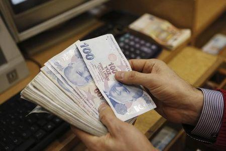 The Turkish lira continued to plunge on Friday.